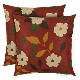 Hattie Pillow in Burgundy