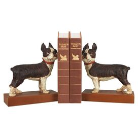 Boston Terrier Bookend