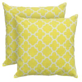Marrakech Pillow in Yellow
