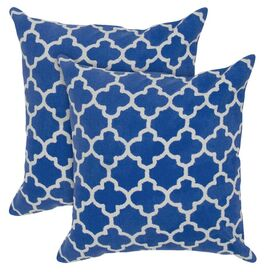 Marrakech Pillow in Blue