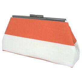 Luna Clutch in Preppy Orange