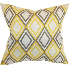 Annie Pillow in Yellow