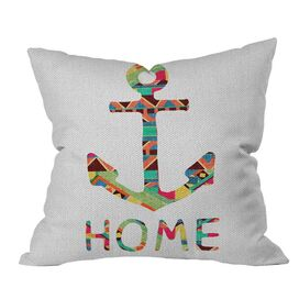 DENY Designs You Make Me Home Pillow by Bianca Green