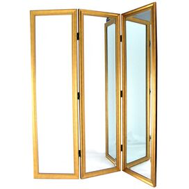 Marina Dressing Mirror in Gold