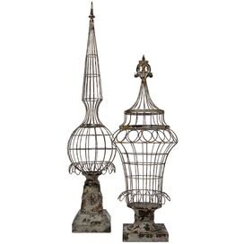2 Piece Liane Finial Set