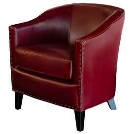 Tayac Club Chair in Red