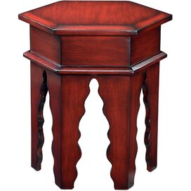 Finola Accent Table in Red