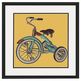 Bike II Framed Print
