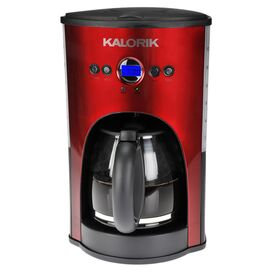 Programmable Coffee Maker in Red