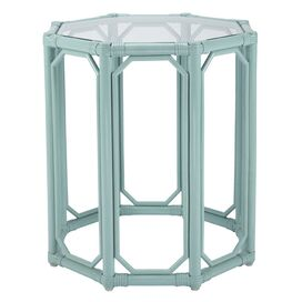 Regeant End Table in Blue