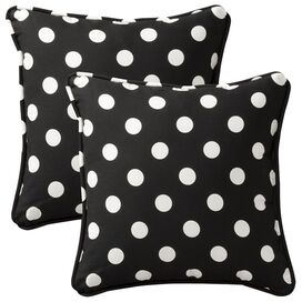 Cecilia Pillow in Black