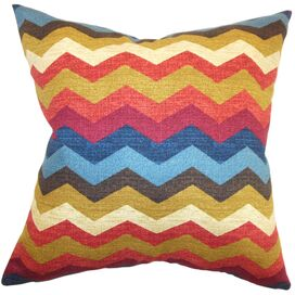 Wave Pillow in Gem