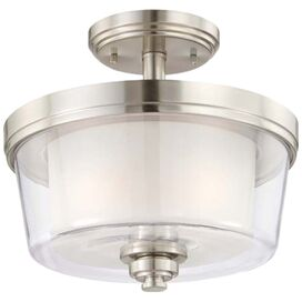 Decker Semi-Flush Mount