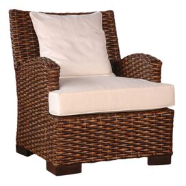 Hamptons Rattan Arm Chair