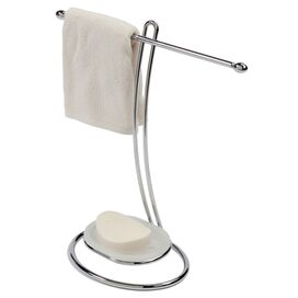 Katelyn Towel Holder with Soap Dish