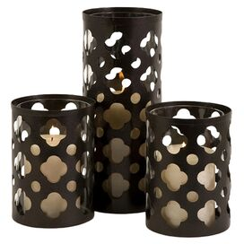 3 Piece Norte Candle Holder Set