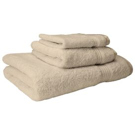 3 Piece Melanie Towel Set in Ivory