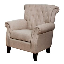 Fitzgerald Tufted Club Chair