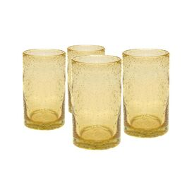 Iris Highball Glass in Citrine