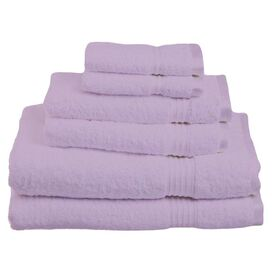 6-Piece Seneca Towel Set in Purple