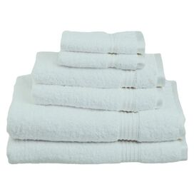 6-Piece Seneca Towel Set in Sea Foam