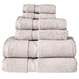 6-Piece Seneca Towel Set in Stone