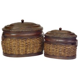 2-Piece Whittier Trinket Box Set