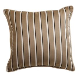 "Harwood 17"" x 17"" Pillow in Cocoa"
