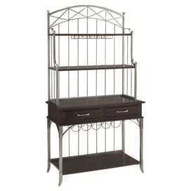 Bordeaux Storage Baker's Rack