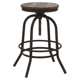Twin Peaks Counter Stool in Distressed Natural