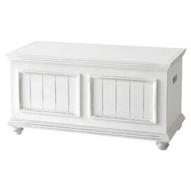 Notting Hill Storage Trunk in White