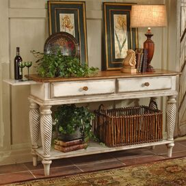 Wilshire Sideboard in Antiqued White