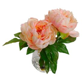 New Growth Designs Faux Peony Arrangement I