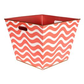 Breakers Storage Bin in Pink