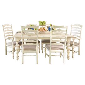 Dalton Dining Table in Linen