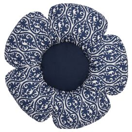 Waverlee Bloom Dog Bed in Blue