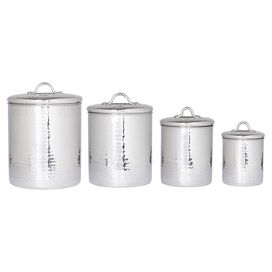 4-Piece Brunetti Canister Set