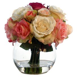 Faux Rose Arrangement III