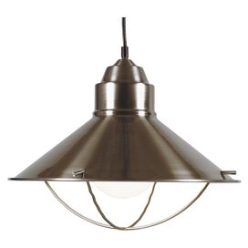 Dowd Pendant in Brushed Steel
