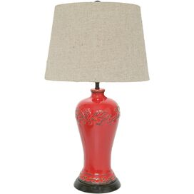 Donna Table Lamp in Red