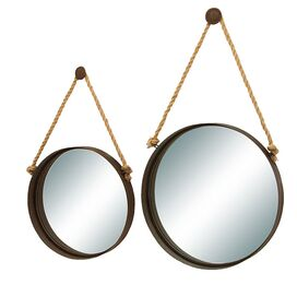 2-Piece Nautique Wall Mirror Set