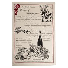 La Boeuf Bourguignon Tea Towel