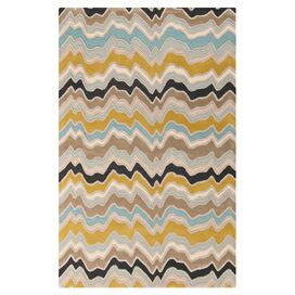 Candice Olson Casimiro Rug in Kelp Brown