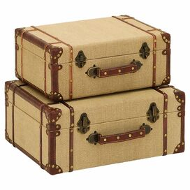 2-Piece Yorkshire Suitcase Set