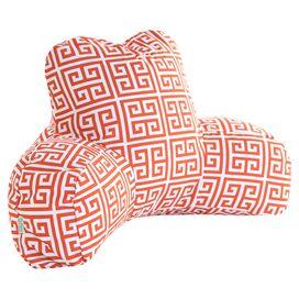 Towers Indoor/Outdoor Reading Pillow in Orange