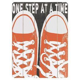 One Step at a Time Wall Decor