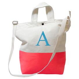 Personalized Olivia Tote in Coral