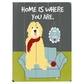 Home Is Where You Are Wall Decor