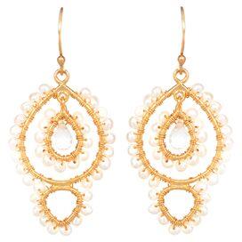 Leora Pearl Earring
