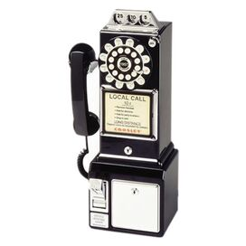 Crosley 1950's Payphone in Black